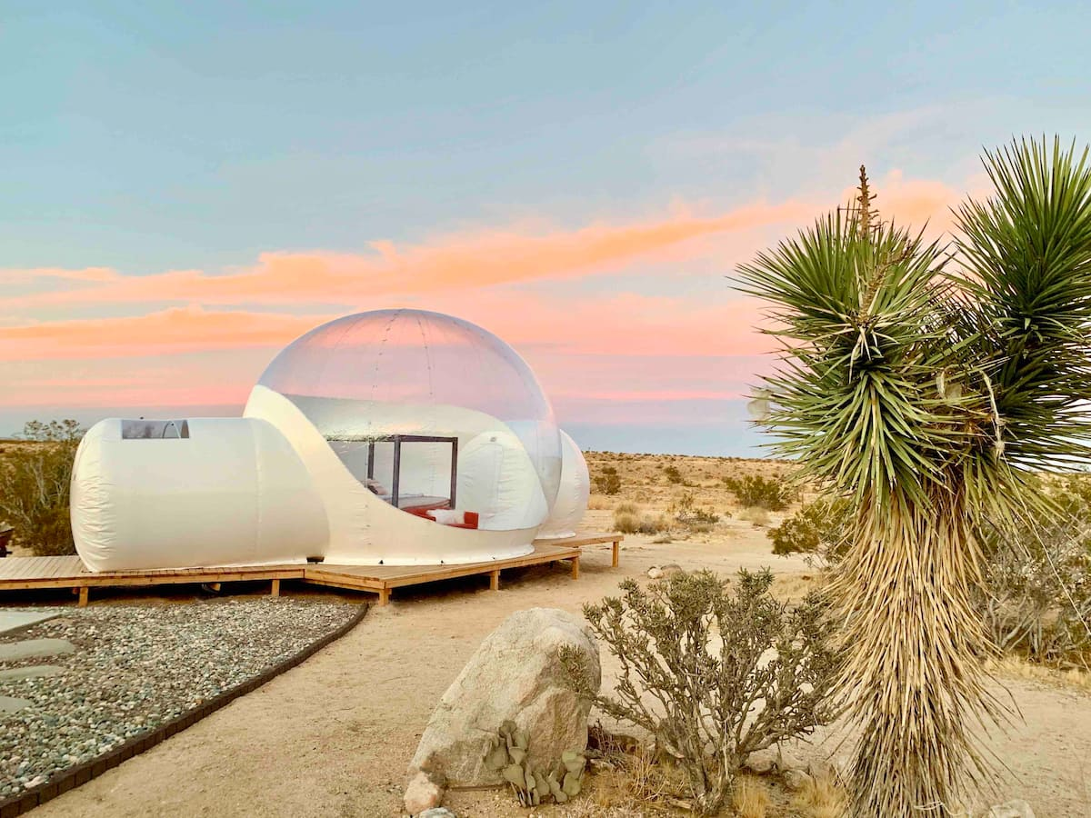 Stargazing-Bubble-joshua-tree-california-airbnb-hotel-places-to-stay-where-to-stay-rental-house